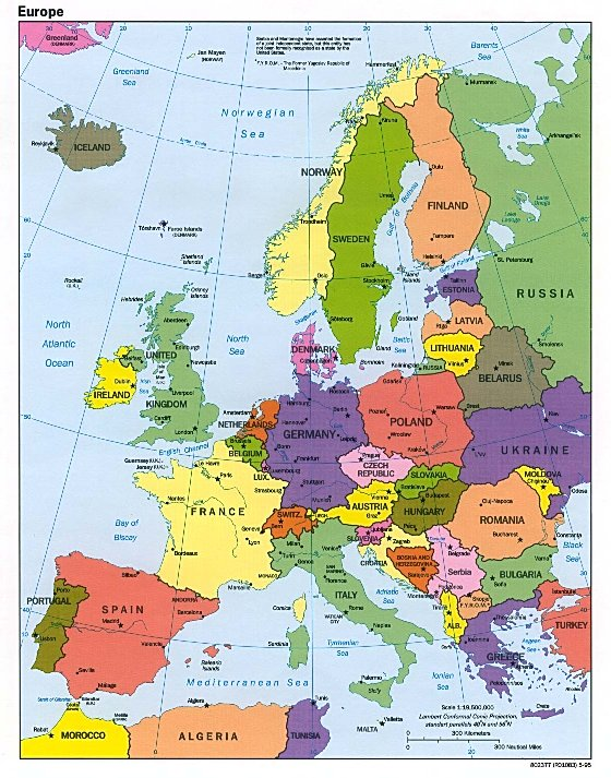European Map